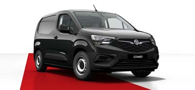 Vauxhall Combo - Available in Onyx Black