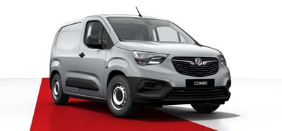Vauxhall Combo - Available in Quartz Silver