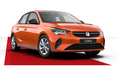 Vauxhall Corsa - Available in Power Orange