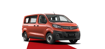 The All-New Vivaro Life - Available in Amber Red