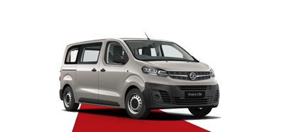 The All-New Vivaro Life - Available in Cool Grey