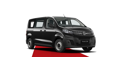 The All-New Vivaro Life - Available in Diamond Black