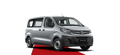 The All-New Vivaro Life - Available in Quartz Silver