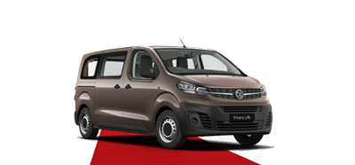 The All-New Vivaro Life - Available in Rich Oak Brown