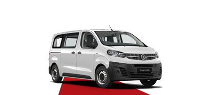 The All-New Vivaro Life - Available in White